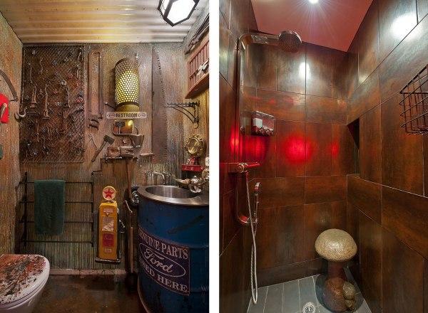 Steampunk Bathroom Design