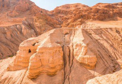 Arqueólogos descobrem novas cavernas em Qumran