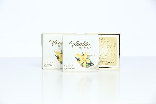 Vanilla Ice Cream Soap 3
