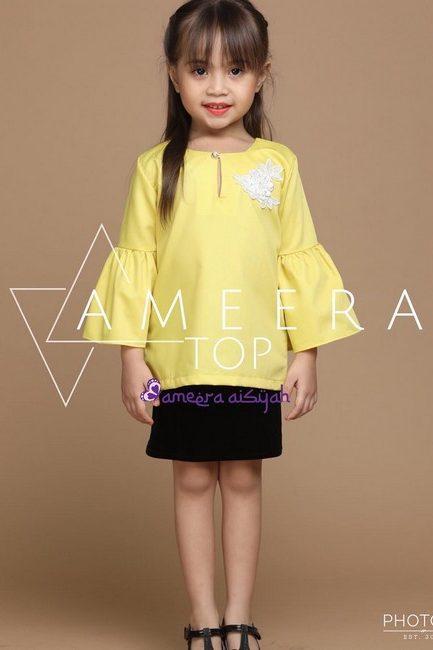ameera-top-yellow