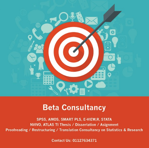 beta consultancy analis data thesis