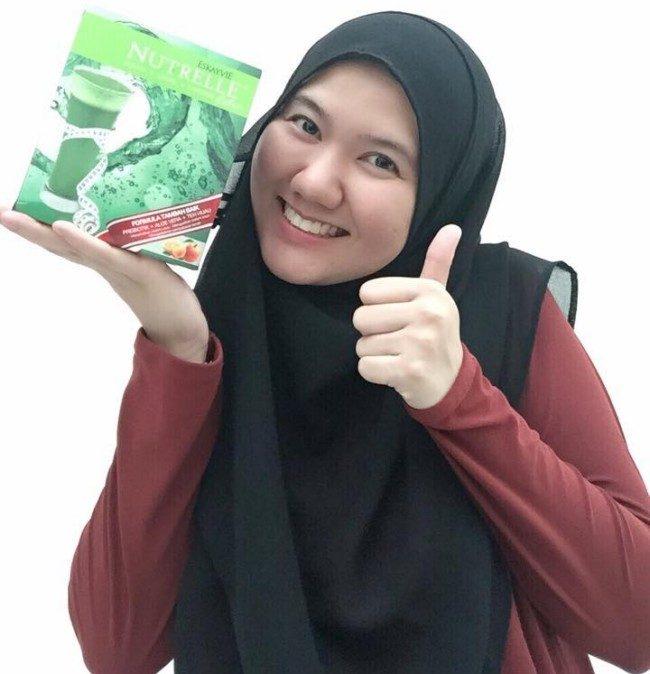 tips detoks tubuh supaya badan langsing cepat nutrelle extra ekstrak teh hijau 4
