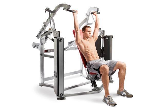 Pembekal Peralatan Gym di Selangor Dan Kuala Lumpur seperti Shoulder Press