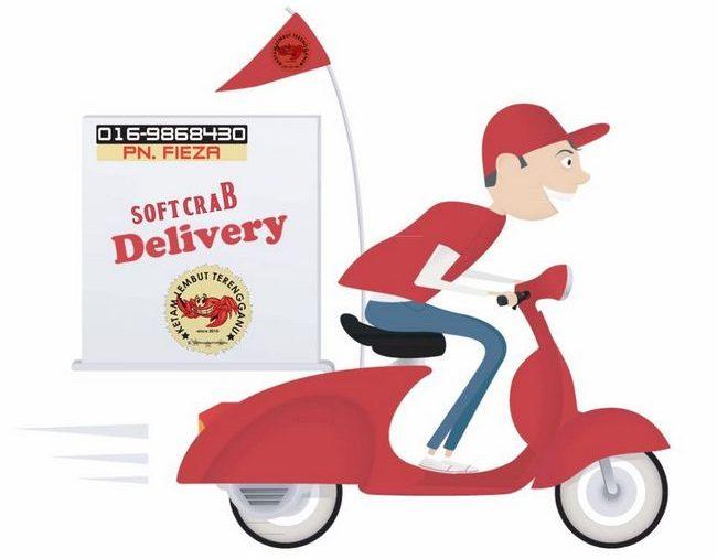delivery percuma ketam lembut terengganu makanan laut frozen dan segar