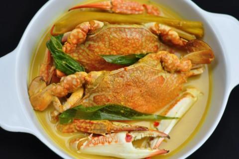 ketam masak lemak cili padi masakan laut yang sedap