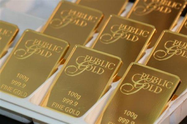 jutawan emas dengan public gold