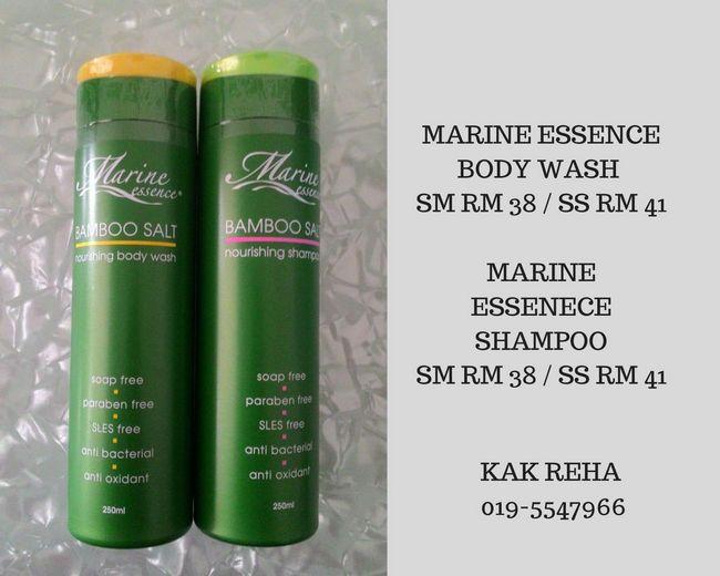 cara penjagaan diri dengan marine shampoo