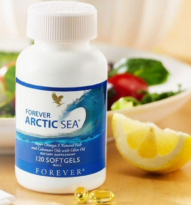 forever living artic sea menurunkan kolesterol