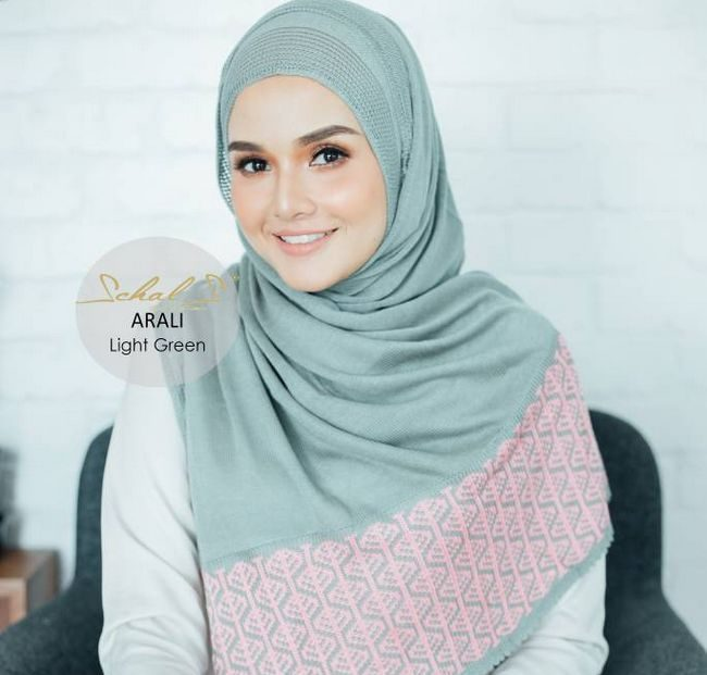 instant shawl schals light green