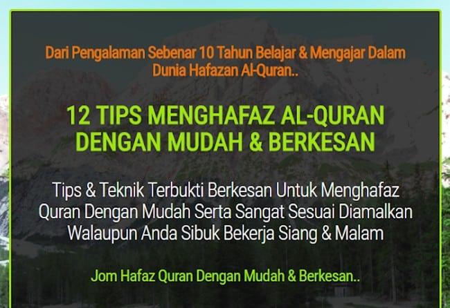 Mencari Tips Mudah Hafal Al-Quran
