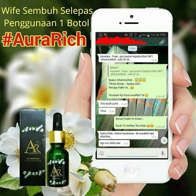 testimoni minyak aura auraRich