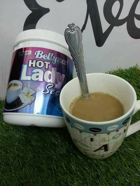 bancuh kopi hot lady untuk dalaman wanita