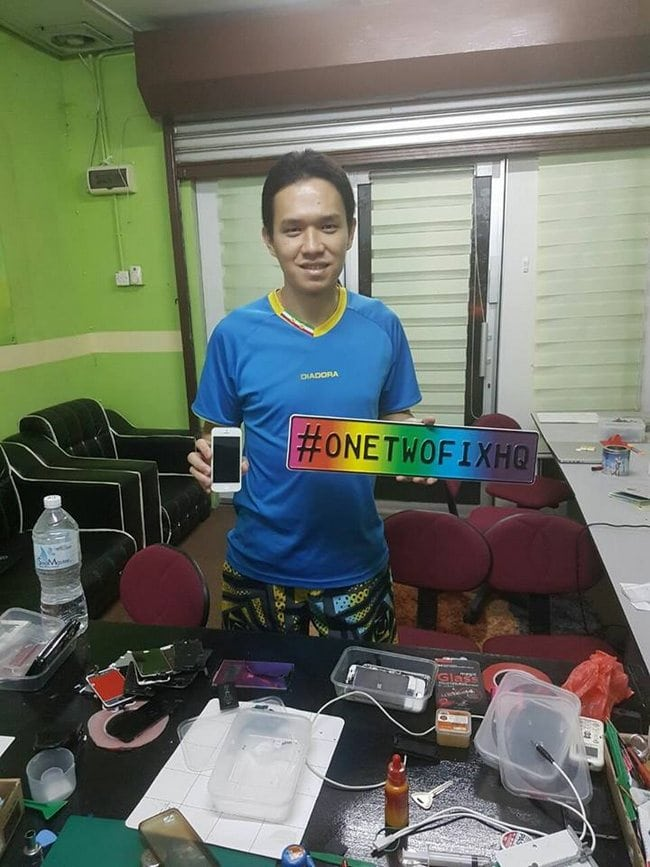 Kedai Repair iPhone Murah Bangi testimoni repair