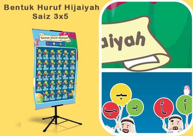 bahan bantu belajar pendidikan islam huruf hijaiyah