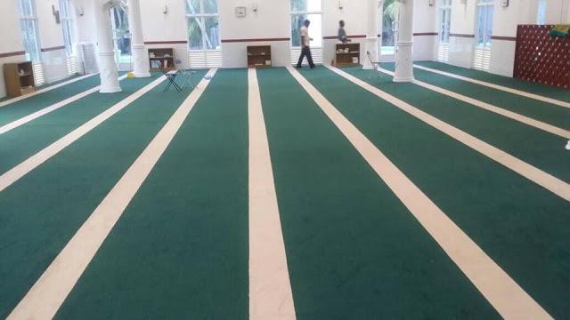 lokasi pembekal dan pemasangan karpet