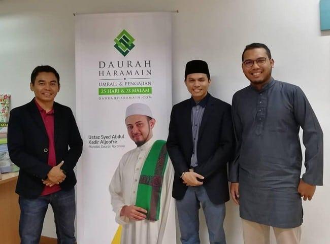 program pakej umrah terbaik dari Daurah Haramain