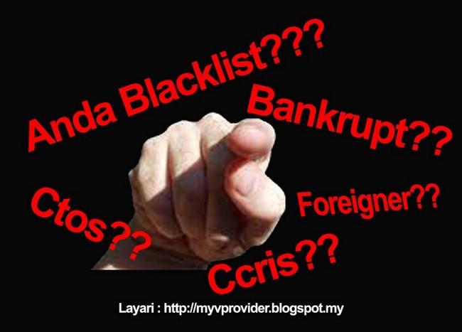 dilema bankrup dan blacklist