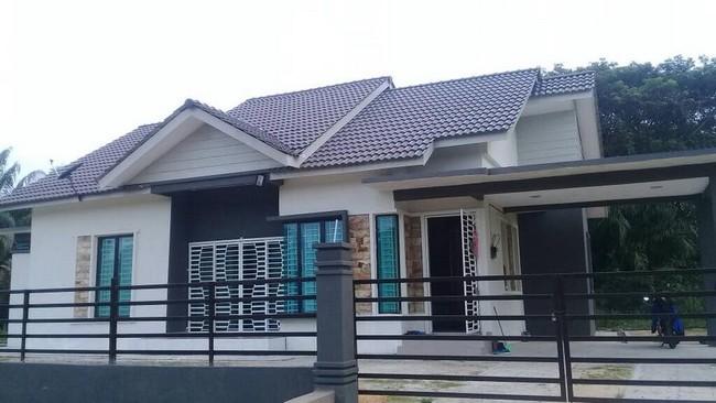 rumah yang dibina
