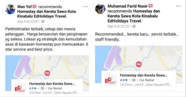 Kereta Sewa di Kota Kinabalu Promosi