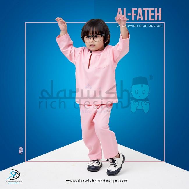 jubah al fateh baju melayu kanak kanak