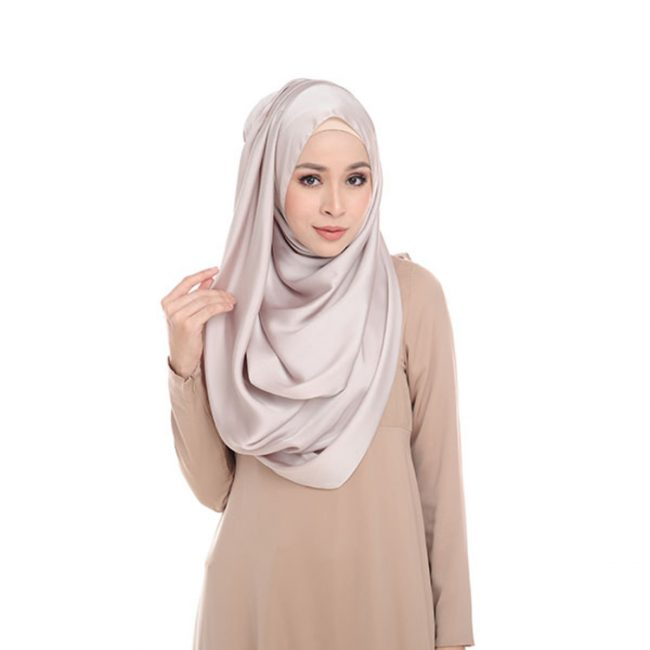 satin shawl cantik