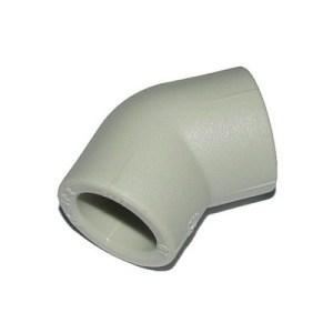 Колено 45° ППР ASG-plast