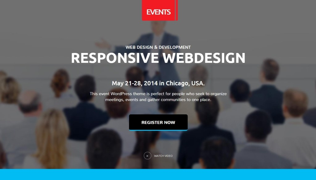 Conference and Event WordPress Themes -2015-mar