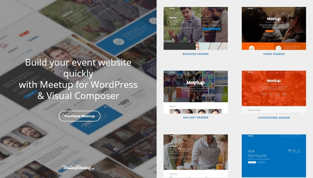Conference and Event WordPress Themes 2015