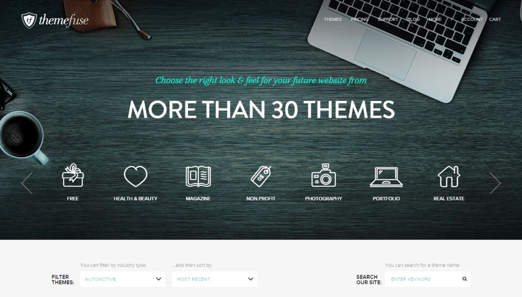 Where can I buy new WordPress templates or themes 2015