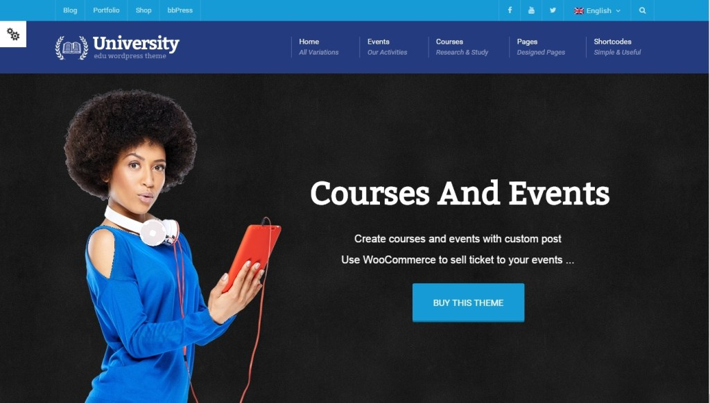 WordPress Learning Management System Themes-2015
