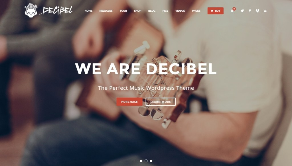 WordPress Music Themes for Musicians and Bands