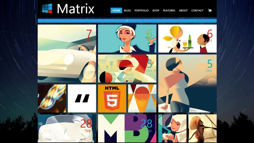 Best WordPress Metro Style Themes 2015