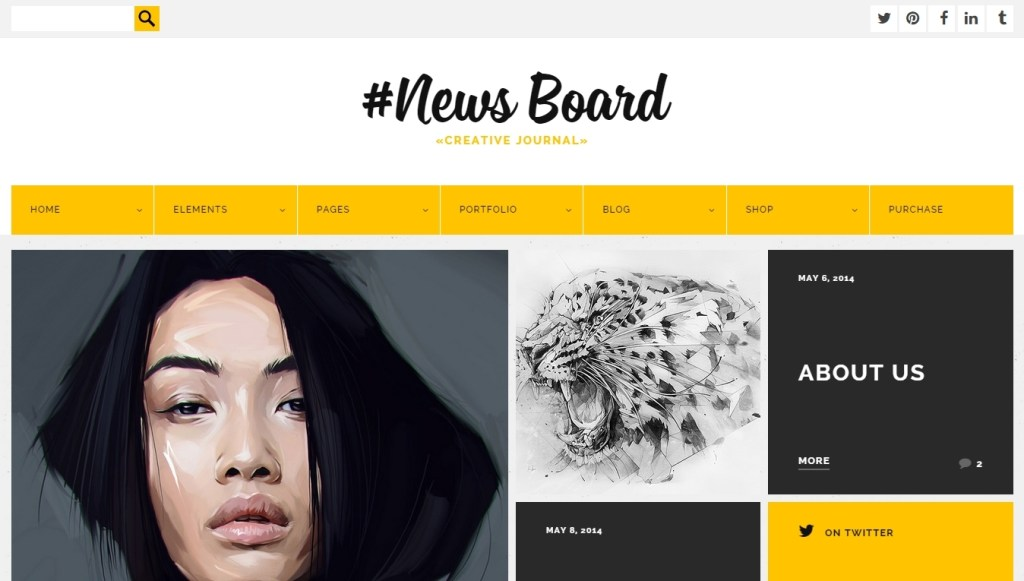 Best WordPress Metro Style theme