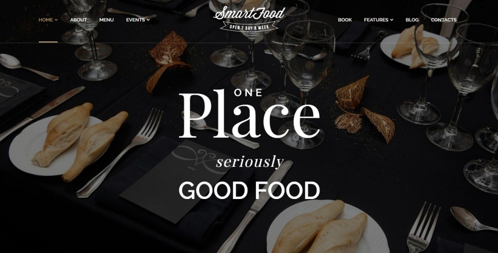 Food business WordPress themes for cafe shop, bakery, pub and bistro 2015