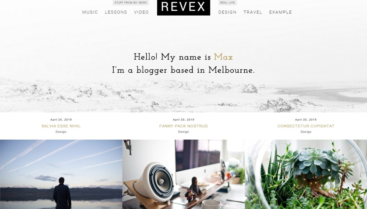 Best Personal WordPress Blog Themes - 10 Responsive, Elegant and Creative Themes