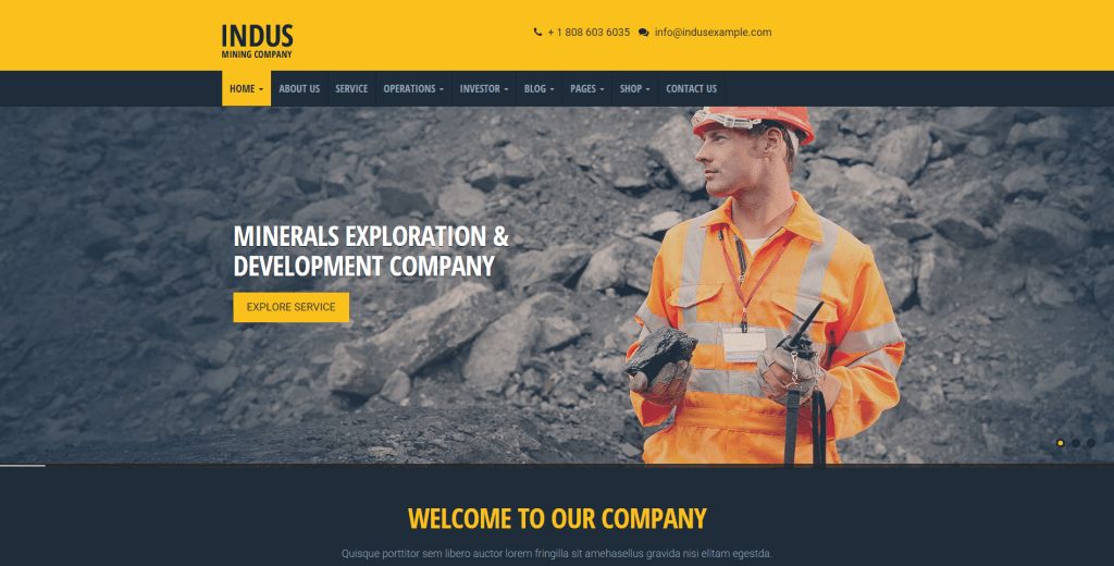 Best WordPress Themes for Construction Business and Companies 2016