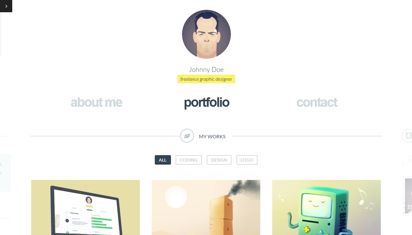 New WordPress Portfolio Themes 2016