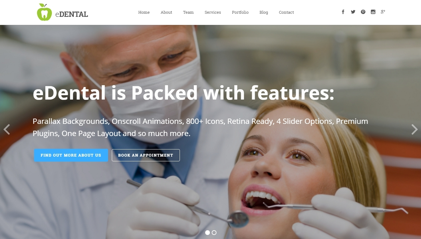 WordPress-ready-website-for-a-dentist