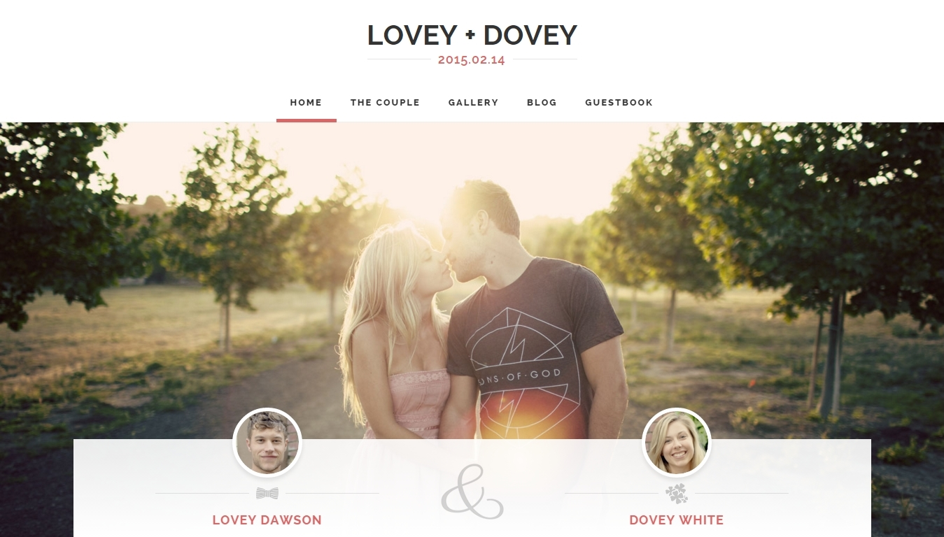 WordPress-wedding-website