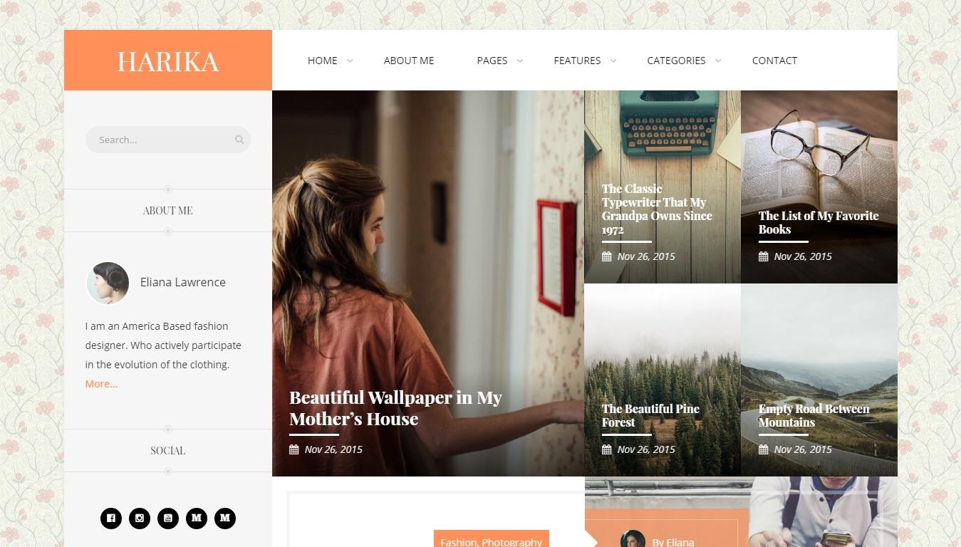 Wordpress Blog Themes 2016