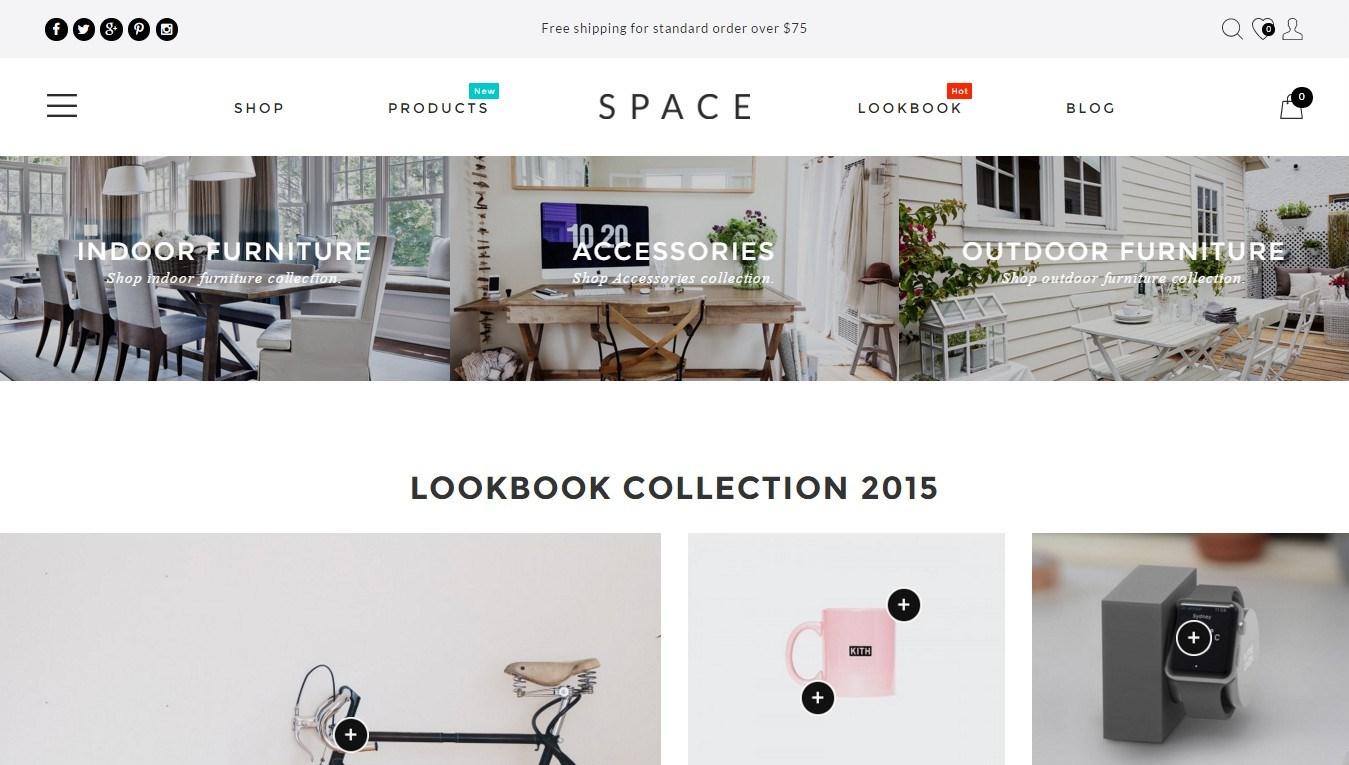 minimalistic WooCommerce themes