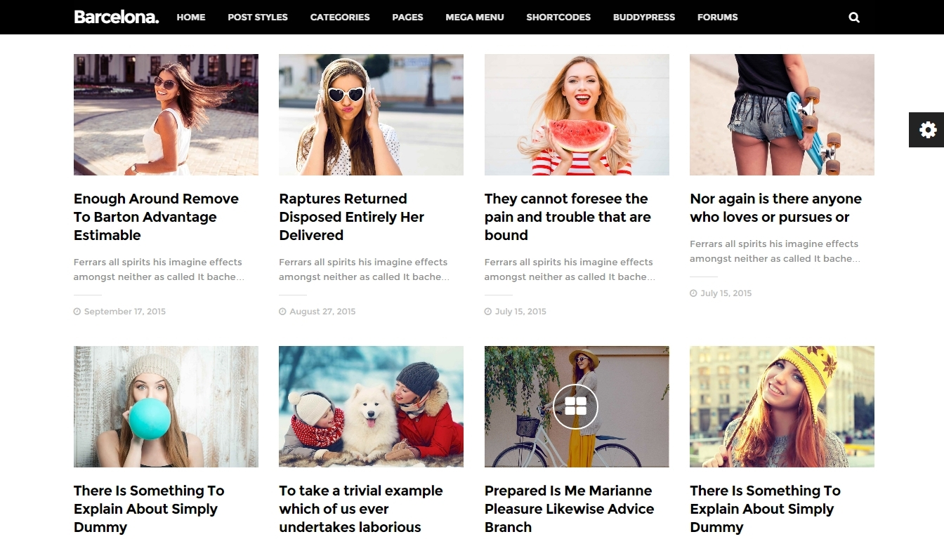 wordpress news template