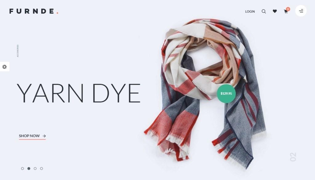 catchy elegant clothing store WordPress themes 2016