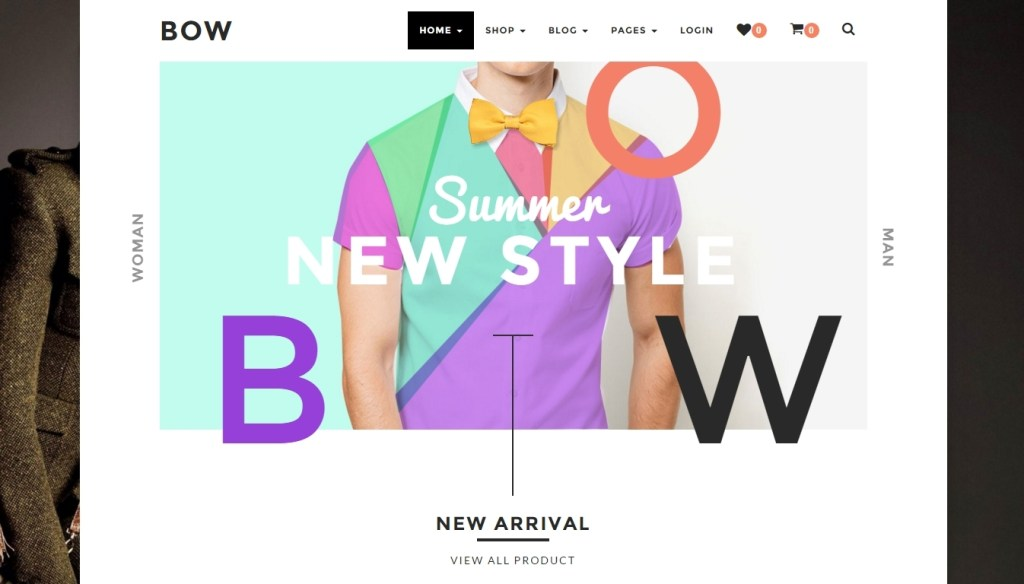 creative wordpress shop - online store templates of 2016
