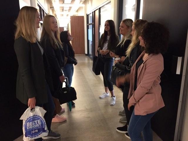 Foto van studenten pedagogiek