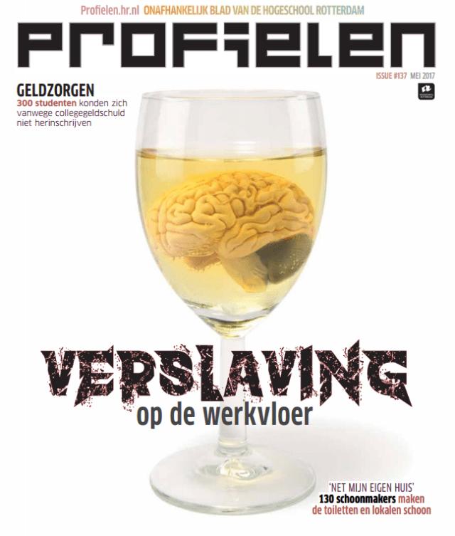 Cover Profielen - Hogeschool Rotterdam - nummer 137