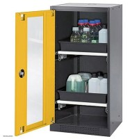asecos Chemical Storage Cabinet CS-CLASSIC-G, 54 cm ...