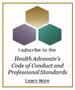 Health Advocate's Code of Conduct