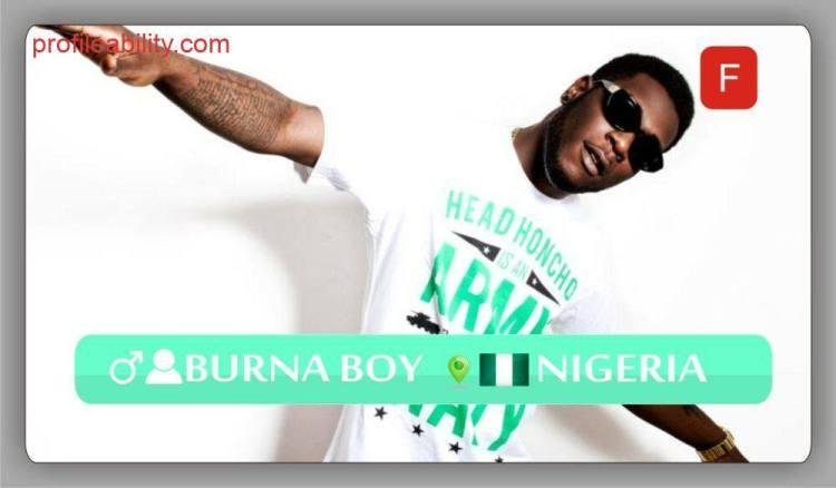 Burna Boy | ProfileAbility