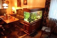 Living Room With Aquarium - Interior Decorating and Home ...